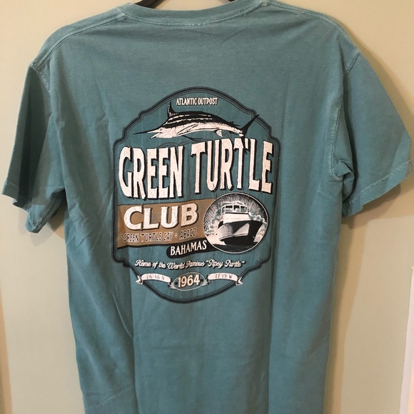 Comfort Colors Other - Green Turtle Club Comfort Colors T-shirt
